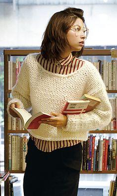 low-gauge sweater