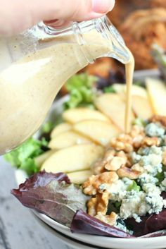 Creamy Apple Cider Vinaigrette Dressing Recipe - How to Make Salad Dressing with Apple Cider Vinegar