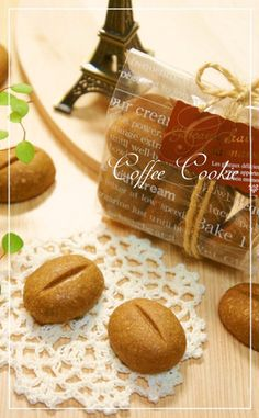 Coffee bean coffee cookies
