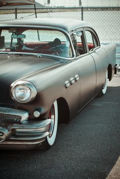 Cool Vintage Look American Car Photography