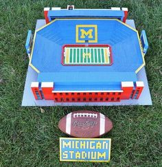 This guy turns Legos into stadium replicas!