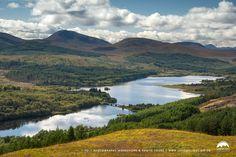 Loch Garry & area in Glen Garry, Highlands