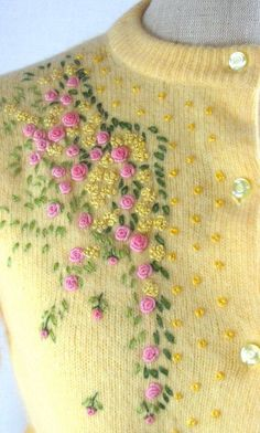 2266caee96bf 33 Best sweater embroidery images in 2019