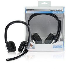 ¡Producto recomendado! ¿Por qué no disfrutas de un sonido estéreo gracias a los #auriculares #Stereo Headset H150 de #König? Cómpralos en: http://blog.pcimagine.com/?p=75486