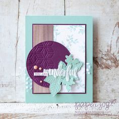 Paper Joy: You Are Wonderful Rooted in Nature
