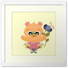Cute kawaii style baby bear wall art for baby room or home decor made by Floflo art on Redbubble. Custom-made box or flat frame styles High-quality timber frame finishes to suit your decor Premium perspex - clearer and lighter than glass Exhibition quality box or flat frame styles Note: The dimensions listed indicate printed image measurements and exclude mat board and frame dimensions Flofloart.redbubble.com Framed Art Prints, Canvas Prints, Friends Wallpaper, Cute Baby Animals, Baby Room, Cute Babies, Kawaii Style, Bear, Art