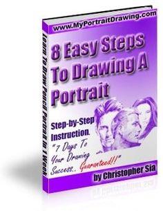 Pencil portrait tutorial We Love 2 Promote http://welove2promote.com/product/pencil-portrait-tutorial/    #earnfromhome