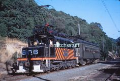 Pinehurst, California. Sacramento Northern Railway 35mm Slide. Electric motor #606 towing passenger special car #302. September 18, 1949. The slide will be well protected. This is an Al Chione duplicate slide. | eBay!