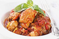 My Fitness Hut Blog: Paleo Crockpot Chicken Cacciatore Recipe