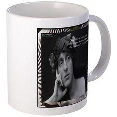 #VirginiaWoolf #Famous #Quote #CoffeeMug Designed by @RickLondon @zazzle @pinterest #gift #sale #christmas #hanukkah