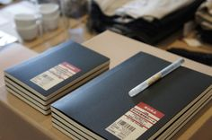 Muji Charcoal Notebook | Lined