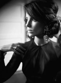 kate beckinsale | hair by: adir abergel | photo by: odette sugerman