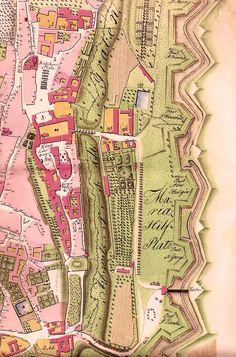 Prague Castle Map 1791