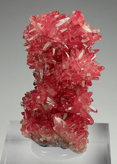 Rhodochrosite - N'Chwaning Mine, Kuruman, Northern Cape Prov., South Africa