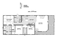 Floorplan STEWART | 32DEV28703AH | Clayton Homes of Covington - Covington, LA