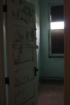 Yankton State Hospital. Resident room.