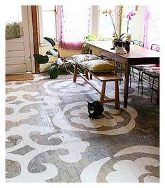 Love painted floors 6a00e55202d48a88340115721f6027970b-pi 370×422 pixels