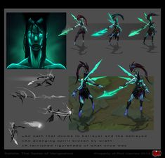 league of legends character concept art - Google Search