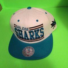 Mitchell and Ness San Jose Sharks SnapBack Hat NWT Mitchell and Ness San Jose Sharks SnapBack Hat Mitchell and Ness Accessories Hats
