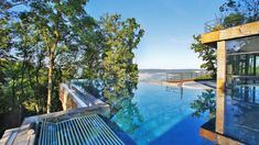 Always a highlight: The infinity pool at Mawell Resort in Langenburg, Germany Design Hotel, Hotels, Hotel Pool, Save Water, Resort Spa, Places To Visit, Germany, Wellness Spa, Swimming