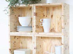 *** Fabriquer ses meubles - Esprit Cabane Cubes, Etagere Cube, Diy, Shelves, Poufs, Home Decor, Plastering, I Will Protect You, Colors