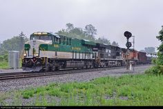 RailPictures.Net Photo: NS 8099 Norfolk Southern GE ES44AC at Derby, New York by Darrell Krueger