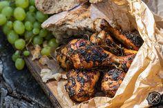 Pieczone udka z kurczaka dla Suriusza Blacka / Baked chicken drumsticks for Sirius Black , more photos and recipe here: https://miodowekrolestwo.wordpress.com/2017/09/25/pieczone-udka-z-kurczecia-dla-syriusza-baked-chicken-drumsticks-for-sirius-black
