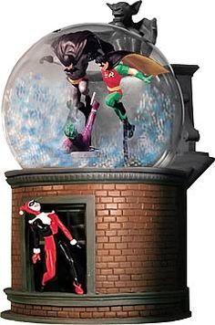 Badman Snow globe
