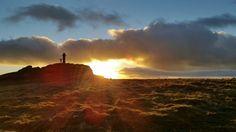 Widgery Cross, Brat Tor, Dartmoor Sunset