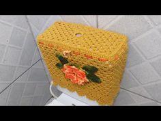 Bathroom Ensembles, Crocheting, Daisy, Decorative Boxes, Basket, Peacock Bathroom, Crochet Carpet, Bathroom Crafts, Diy And Crafts