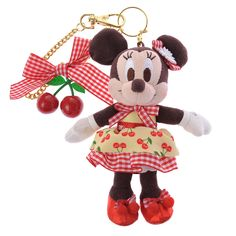 [Official] Disney Store | key chain fruit Minnie: | Disney Goods Gift of official mail order site Disneystore