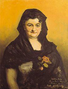 Emilia Pardo-Bazán y de la Rúa-Figueroa, nada na Coruña o 16 de setembro de 1851 e finada en Madrid o 12 de maio de 1921, foi unha escritora en lingua castelá, intelectual, xornalista, crítica literaria, narradora e rexionalista galega que triunfou na literatura española como escritora e como figura pública. Influída polo naturalismo, movemento literario que introduciría en España, escribiu máis de 500 obras. O seu estilo foi enérxico e nel afondou en problemas e situacións difíciles.