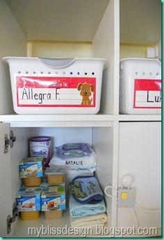 Home Daycare Organization