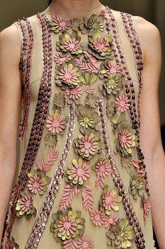 Laura Biagiotti, Delightful, Delicate Floral Details.