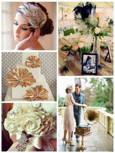 A Great Gatsby Wedding