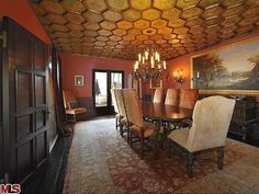 Dining Room: Katy Perry's Park Hill House