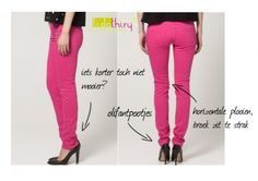 Zeven manieren om meteen slanker te lijken. Tip 3: Maak je broek op de goede lengte.
