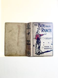 1909 Antique Boys Adventure Book The Boy From The by jarmfarm
