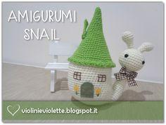 crochet snail ♥