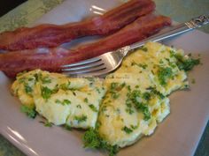 If you've never tasted Boursin cheese you're in for a real treat with this scrambled egg recipe. I'm not too fond of eggs but just LOVED these! Do try them! ~ Peggy  Recipe: http://buttoni.wordpress.com/2011/07/27/boursin-scrambled-eggs/