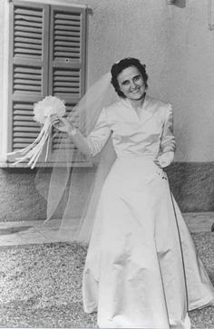 St. Gianna on her wedding day
