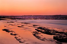 Sunset at Sitia, de eastermost town of Crete, Lasithi_ Greece