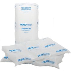 Peak Packaging is the (delete manufacturers and) supplier of quality gel freezer packs and ice replacement pads, dry ice and other gel ice pads for food shipping and storage.