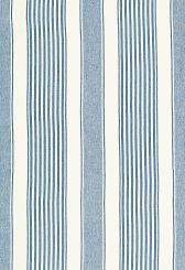 Fabric   Summerville Linen Stripe in Ocean   Schumacher