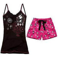 2-Pc. Tim Burton's The Nightmare Before Christmas Pajama... | Shop entertainment| Kaboodle
