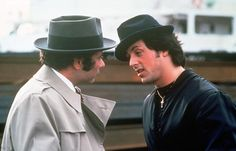 Burt Young and Sylvester Stallone in Rocky II Jackie Stallone, Sage Stallone, Frank Stallone, Rocky Sylvester Stallone, Jennifer Flavin, Rocky Balboa, Brigitte Nielsen, Burt Young, Rocky Film