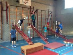 Parkour, Kids Sports, Experiential, Basketball Court, Wrestling, Games, Students, School, Kid