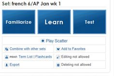Try an online interactive flash card site like Quizlet.
