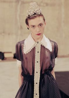 Meadham Kirchhoff's Fall/Winter 2013 collection (via Rookie Mag)