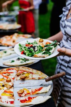Wedding Reception Pizza catering: Fire And Company